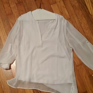 Large white tshirt